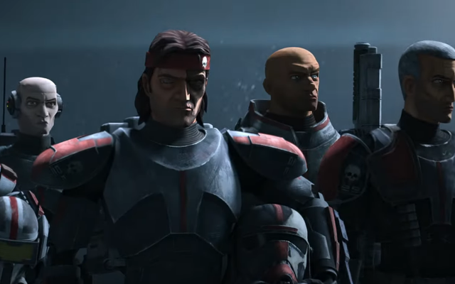 Клоны получают своего Рэмбо в первом тизере Star Wars: The Bad Batch