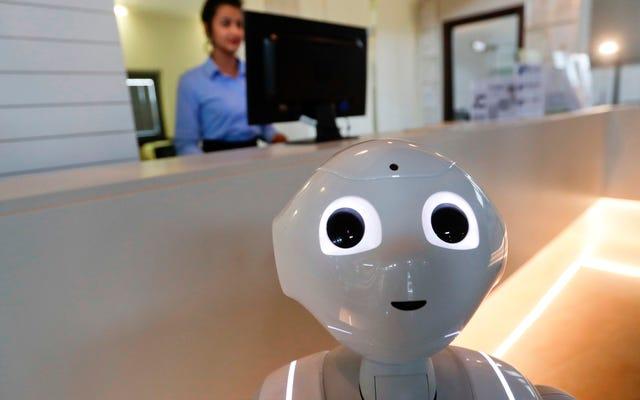 ロボットは私たちの仕事のためにやってくる、オートメーション機器の売り手は言う