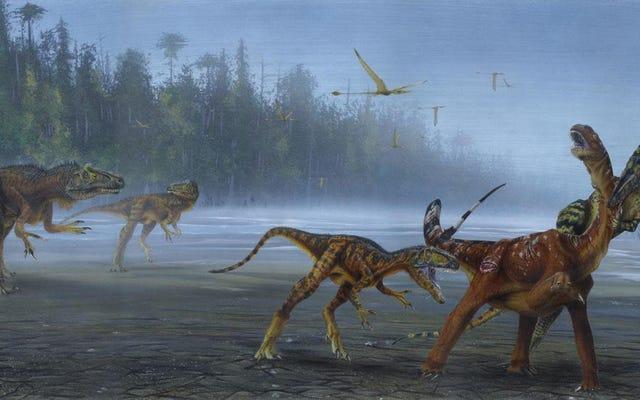 ユタ州で発見された肉食恐竜は真のジュラ紀の悪夢でした