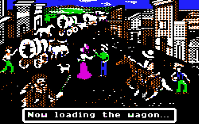 レトロゲームの古典的なオレゴントレイルのクリエイターが今レトロなビデオで回想するのを見てください