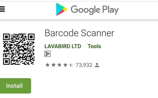 Comment savoir quel `` scanner de codes-barres '' est un malware Android