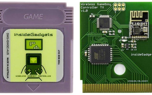 Transformez votre ancienne Game Boy en une manette rétro ultime avec cette cartouche personnalisée