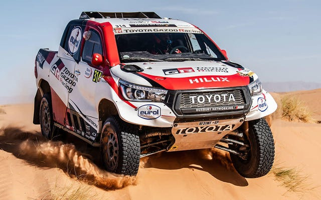 Fernando Alonso est officiellement sur la liste du rallye Dakar avec Toyota
