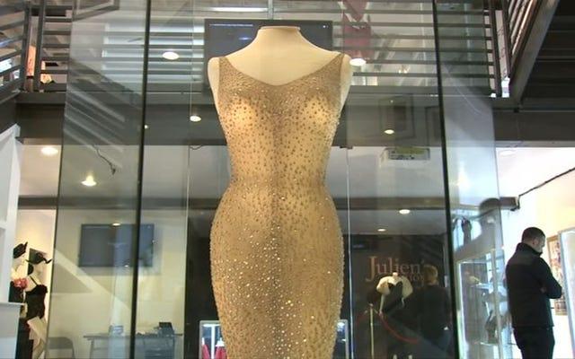 マリリンモンローの「ハッピーバースデー」ドレスはオークションで480万ドルを獲得