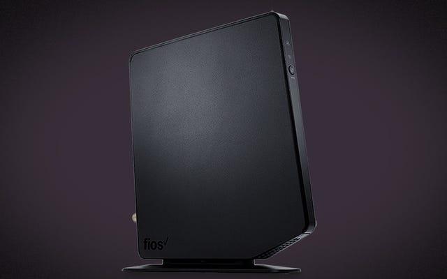 อัปเดตเราเตอร์ Fios Gateway G1100 ของคุณทันทีเพื่อแก้ไขความเสี่ยงด้านความปลอดภัยที่ร้ายแรง