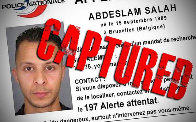 パリ同時多発テロの疑いの首謀者が捕らえられた(更新)