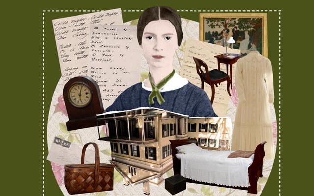 एमिली डिकिन्सन के बेडरूम में एक घंटे का किराया जहां उसने अपनी पूरी जिंदगी के काम को लिखा