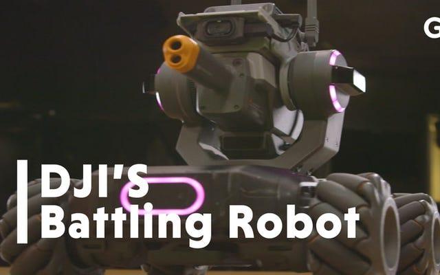 L'auto robot super veloce di DJI è un'esplosione assoluta