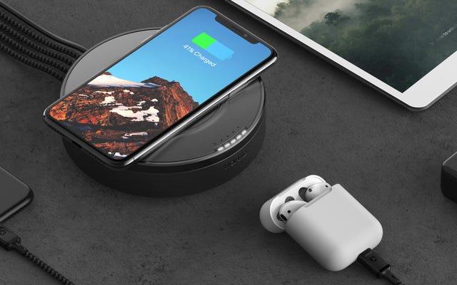 Packs Hub de Nomad en charge sans fil et USB-C