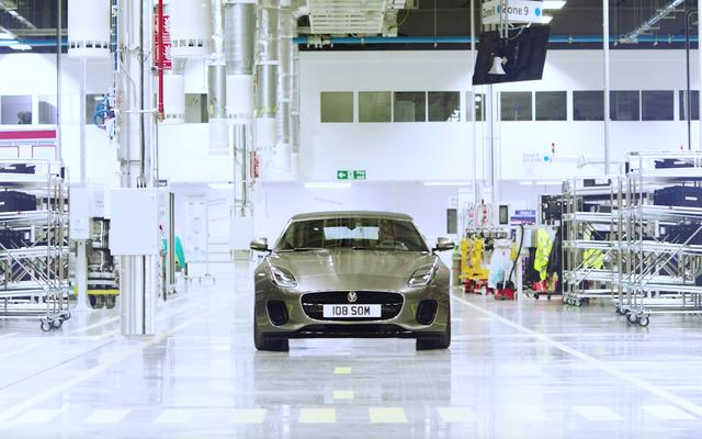 Czterocylindrowy Jaguar typu F też brzmi całkiem nieźle
