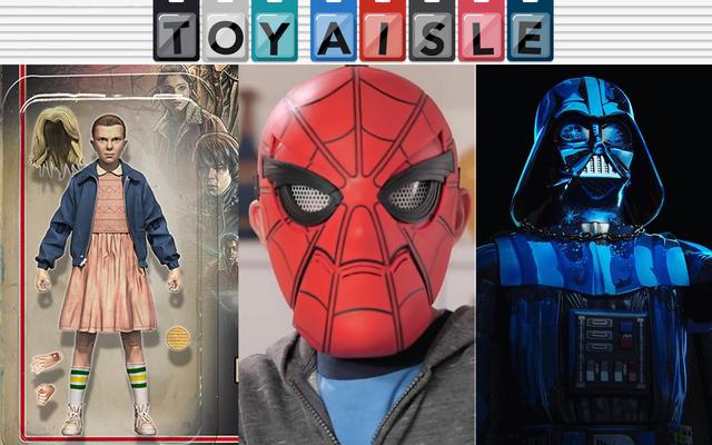 Un hombre araña que trabaja de verdad: máscara de regreso a casa que puedes comprar y más de los mejores juguetes de la semana