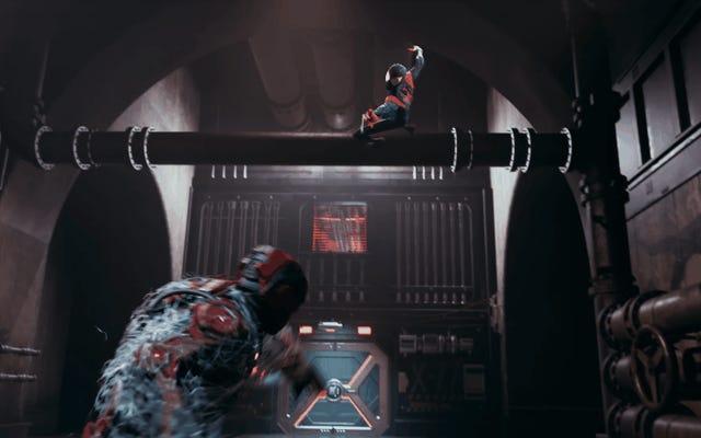 マイルズモラレスの新しいゲームは彼に彼の驚くべき、壮観な、そして究極のスパイダーバーススーツを与えます