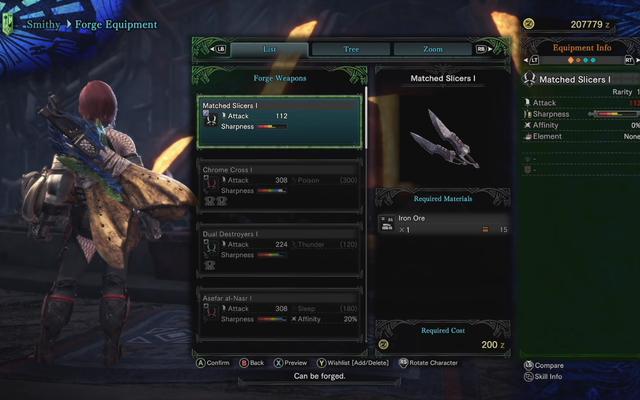 Certains des nouveaux équipements de Monster Hunter World sont certainement laids