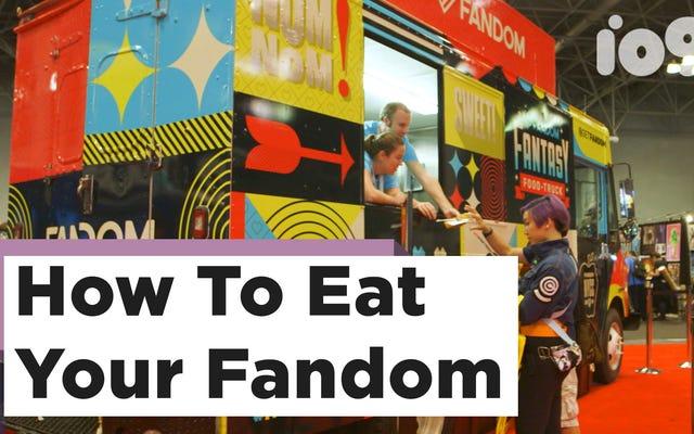 オタク料理専用のNYCCフードトラックであなたのファンダムを食べましょう