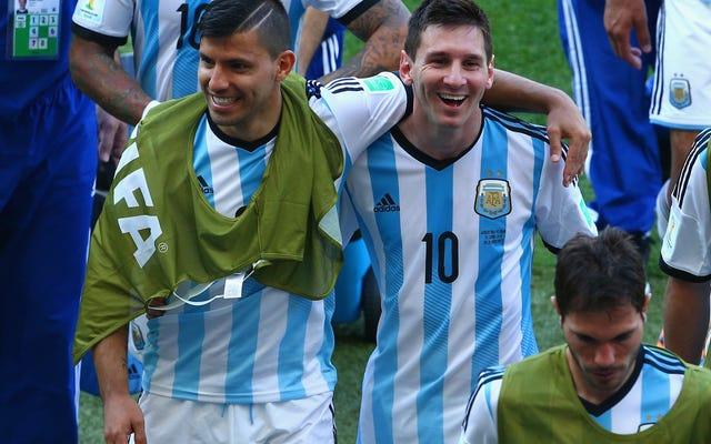ESPN przerobił głowę Lionela Messiego na ciało Sergio Agüero w Photoshopie i wygląda głupio jak diabli