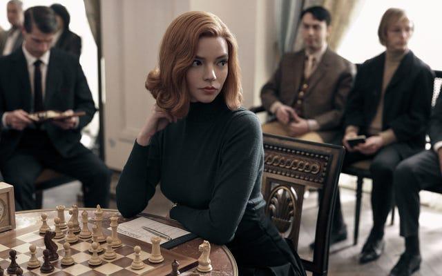 The Queen's Gambit menawarkan kombinasi kemenangan dari eskapisme dan drama periode