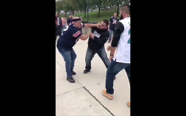 クマのファンとジャガーのファンは彼らのひどいチームの名誉を守るために戦う