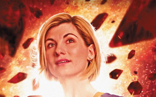 13番目の医者の最初の漫画本の旅は彼女自身の過去への旅です