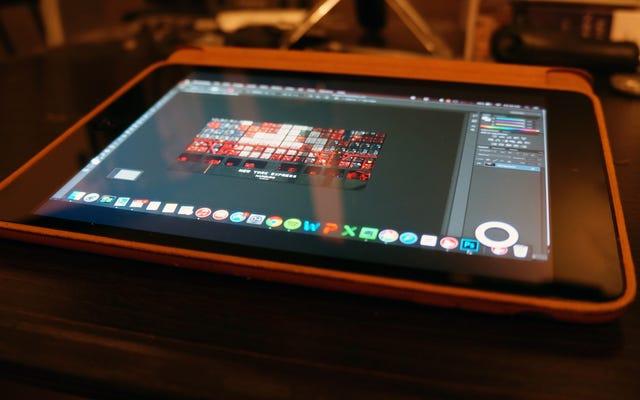 Astropadは、グラフィックタブレットにかなり取って代わるアプリです