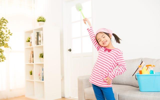 あなたの子供にこれらの春の大掃除の雑用を任せなさい