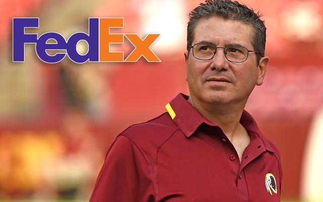 FedEx, спонсор Вашингтонского стадиона НФЛ на сумму 205 миллионов долларов, просит команду сменить название [ОБНОВЛЕНО]