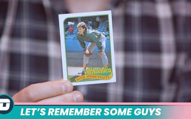 """Mari Ingat Beberapa Orang: """"Apakah Itu Rick Honeycutt?"""""""