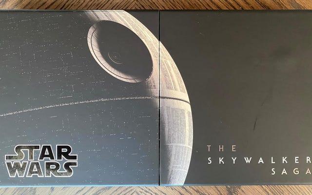Hãy đi sâu vào Chiến tranh giữa các vì sao: Bộ hộp 27 đĩa của Skywalker Saga