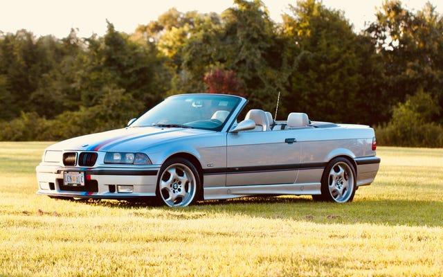 $ 17,900で、この過給された1999 BMW M3コンバーチブルはあなたを吹き飛ばしますか?