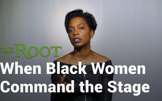 Смотрите: Мишель Уилсон, чернокожая женщина, владеющая повествованием на бродвейской сцене