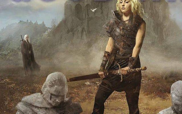 """Der Fantasy-Autor Terry Goodkind behauptet nun, er habe sein Buchcover gehasst, weil es """"sexistisch"""" sei."""