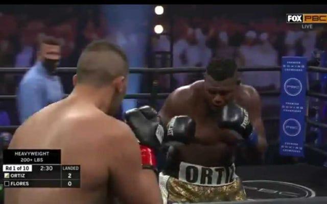 Le combat Luis Ortiz-Alexander Flores a été le match de boxe le plus ridicule que vous ayez jamais vu