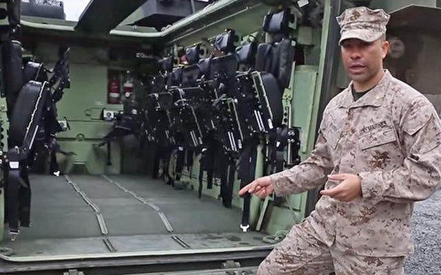 USMCの由緒ある水陸両用攻撃車両はアップグレードで新しい生活を送っています