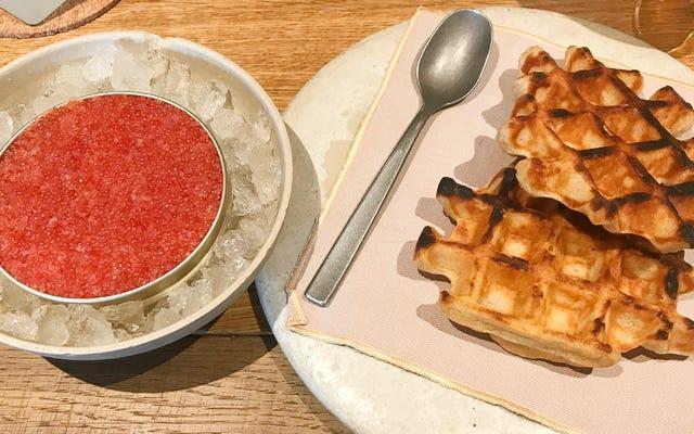 Ponle caviar en los carbohidratos del desayuno