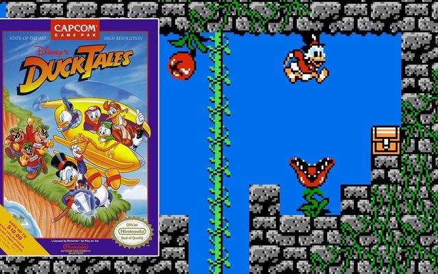 เรื่องราวเบื้องหลัง DuckTales บน NES