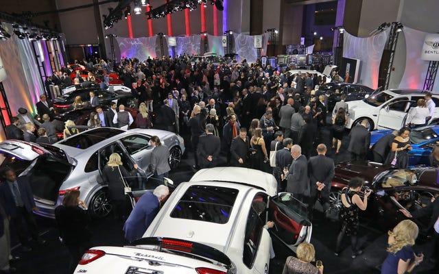 デトロイト自動車ショーは10月のより凍っていない月に移動するかもしれません