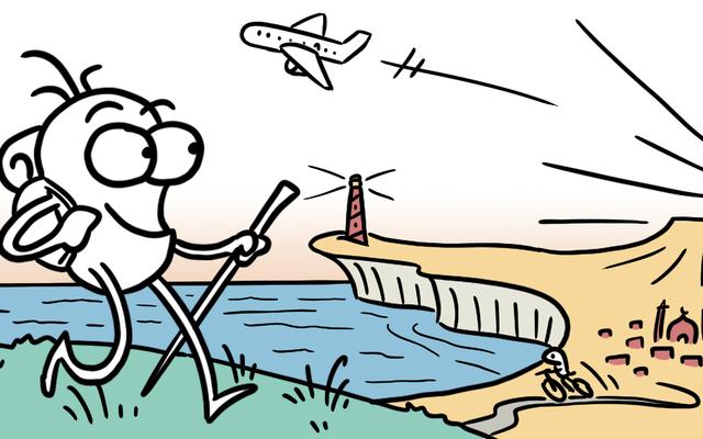 このウェブコミックから世界旅行のヒントを入手