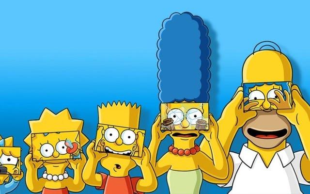 Tonton episode pertama The Simpsons dalam realitas virtual di ponsel Anda