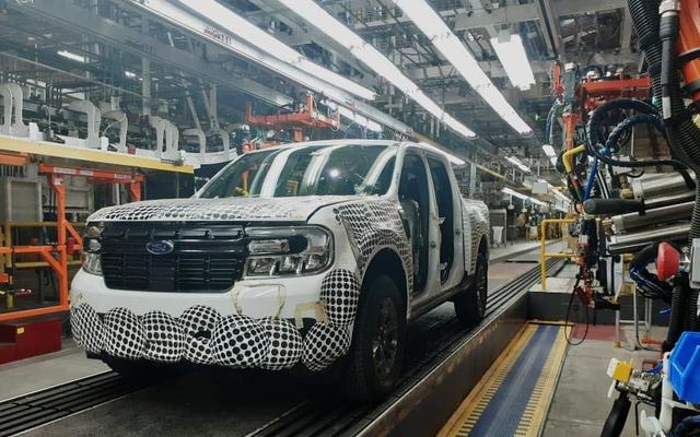 あなたがそれを見ることになっている前に、これがフォードマーベリックピックアップです