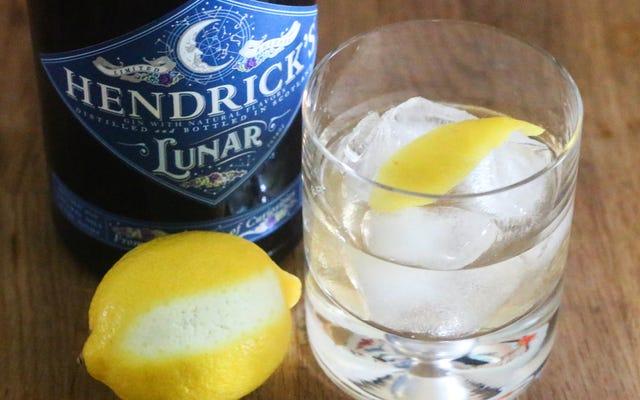 Faça um gim à moda antiga com xarope de limão