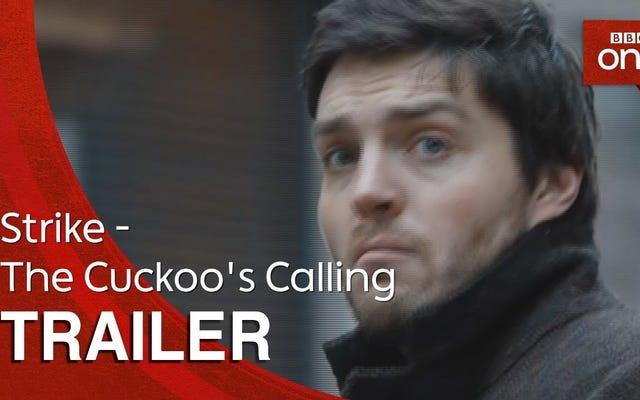 ชมตัวอย่างภาพยนตร์ดัดแปลงจาก BBC เรื่อง The Cuckoo's Calling ของ JK Rowling