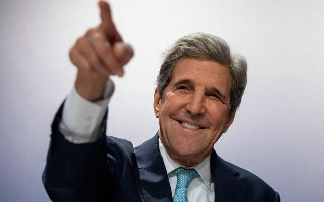 El abrazo pasado de John Kerry al fracking podría crear un desastre climático en el extranjero