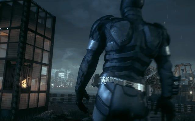 Lavoralo, Batman, lavoralo