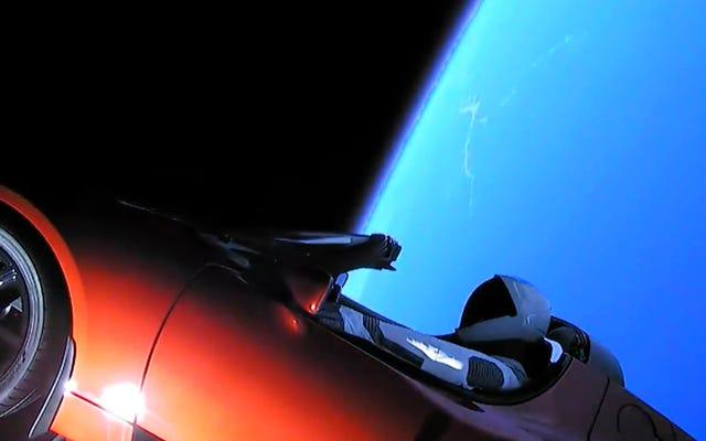 Então, se você pudesse trazer Tesla de Elon Musk de volta do espaço, ainda funcionaria?
