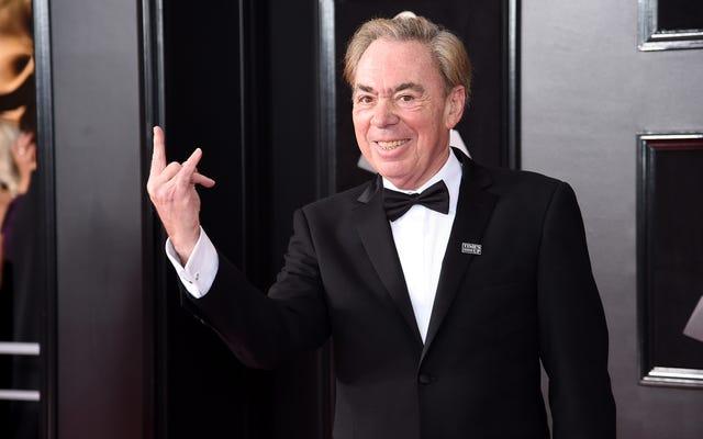 Andrew Lloyd Webber untuk Mendapatkan Prestasi Seumur Hidup Tony, Bukannya Aku Telah Memaafkannya untuk Kucing