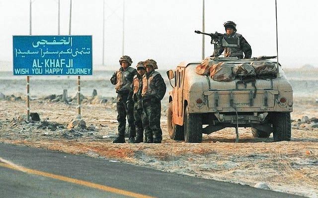 サダムの反撃:砂漠の嵐の間にイラクがサウジアラビアの都市に侵入できなかった