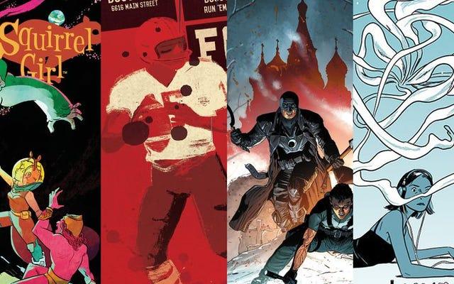 2015年の私たちのお気に入りの継続的および連続コミック