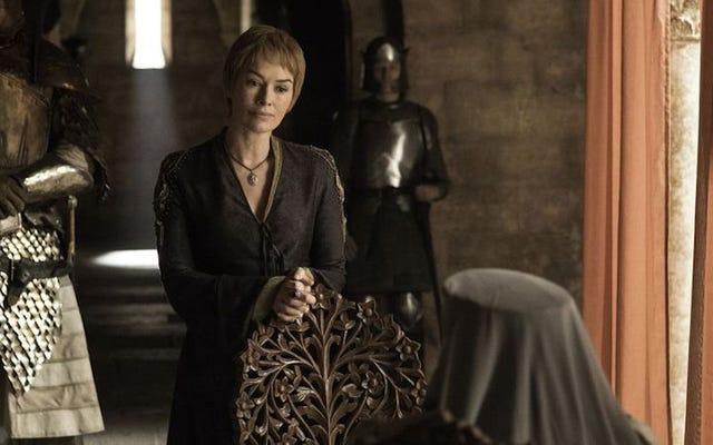 Cersei की गर्भावस्था की स्थिति को स्पष्ट करने वाला एक डिलीट गेम ऑफ थ्रोन्स सीन था