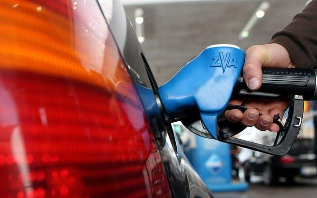 連邦ガス税は決して上がることはありません