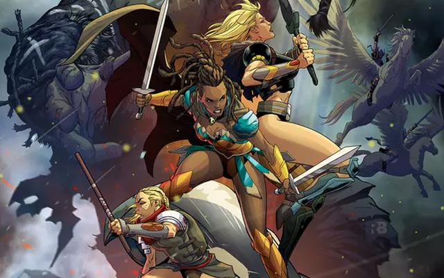 新しいDCコミックは基本的にジェイソンとアルゴナウタイですがアマゾン