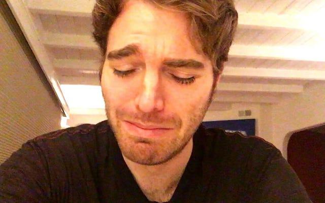 YouTube dichiara coraggiosamente che Shane Dawson viene nuovamente cancellato dopo che è stato già cancellato di nuovo
